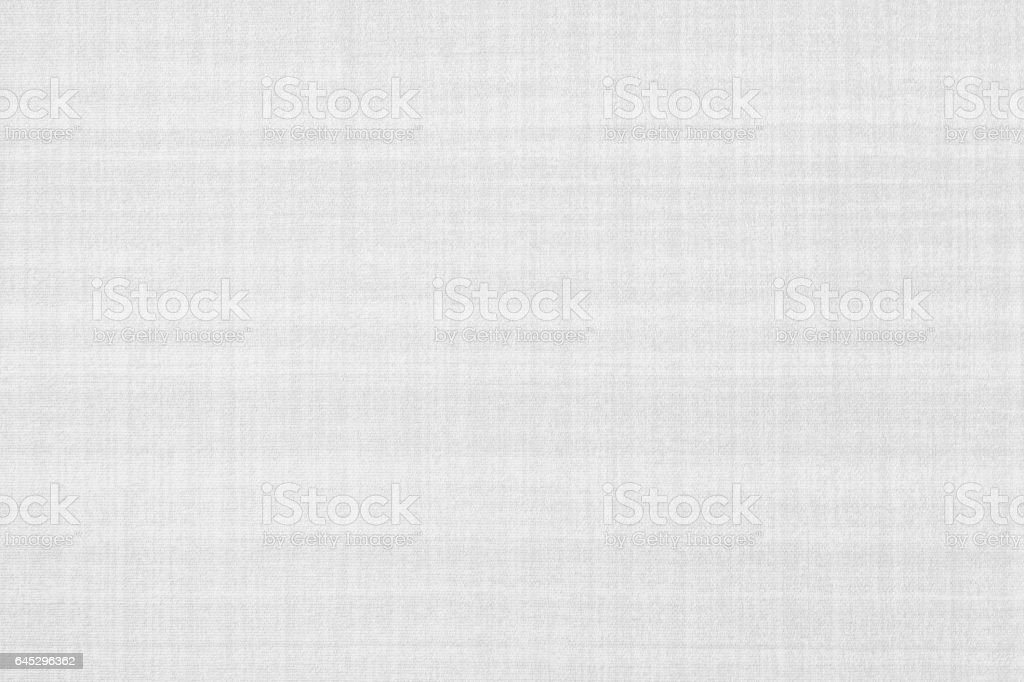 White fabric and textile background seamless and texture stock photo