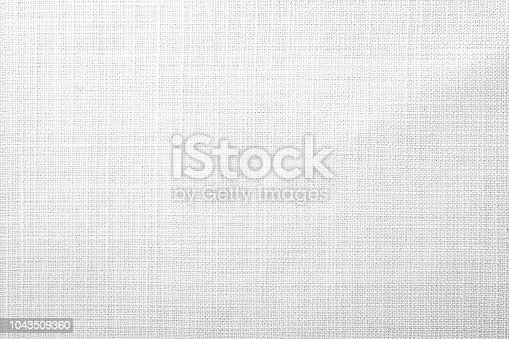 istock White fabric background 1043509360