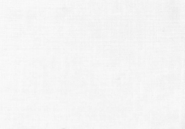 White fabric background stock photo