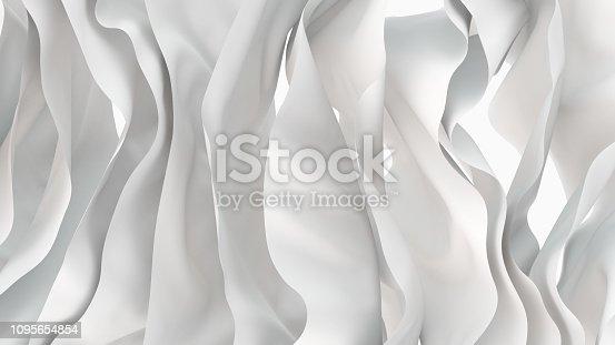 istock white fabric moving 1095654854