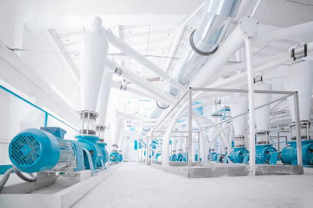 Weiße Fabrik – Foto