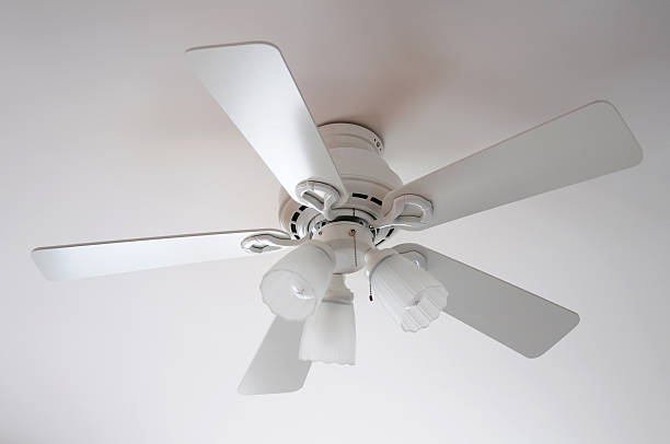 White fan  ceiling fan stock pictures, royalty-free photos & images
