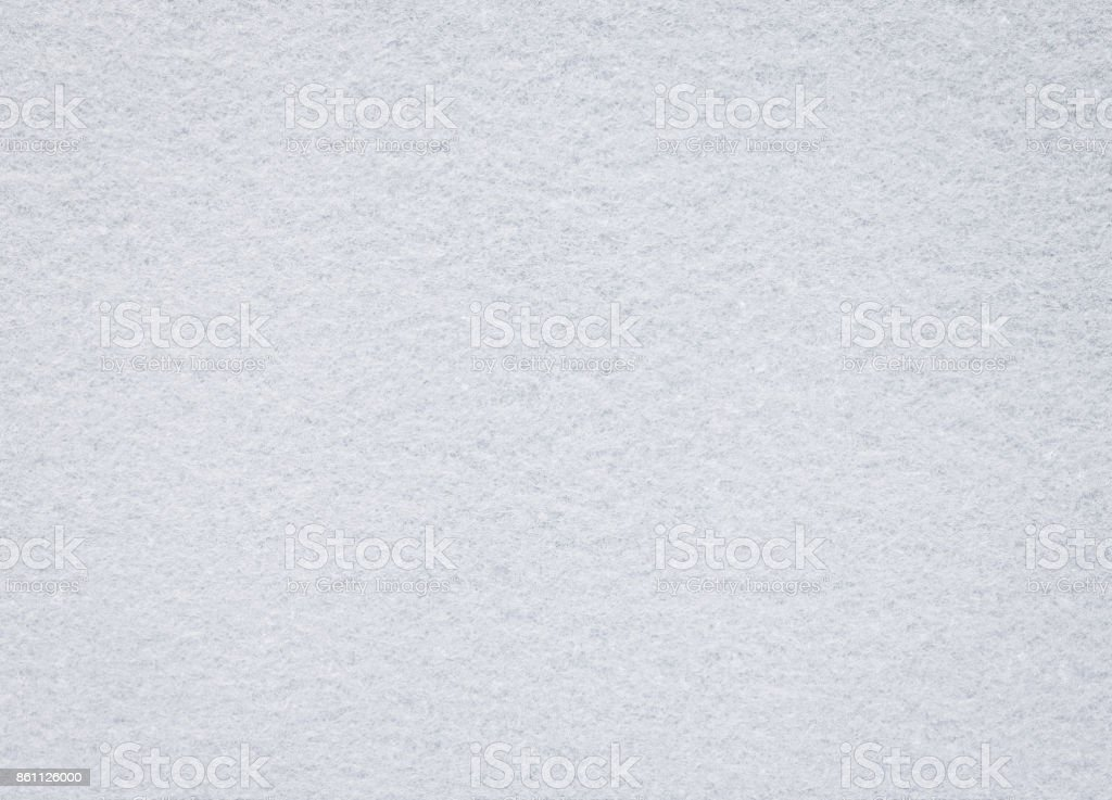 White felt texture. Blank fabric background. Detail of carpet material. stock photo