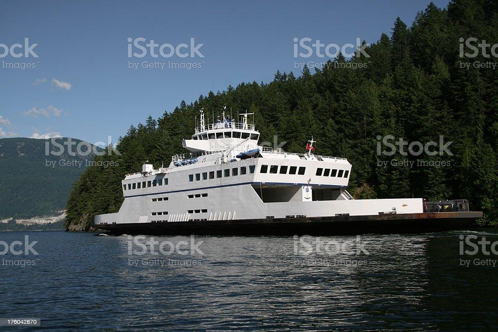 White Ferry stock photo