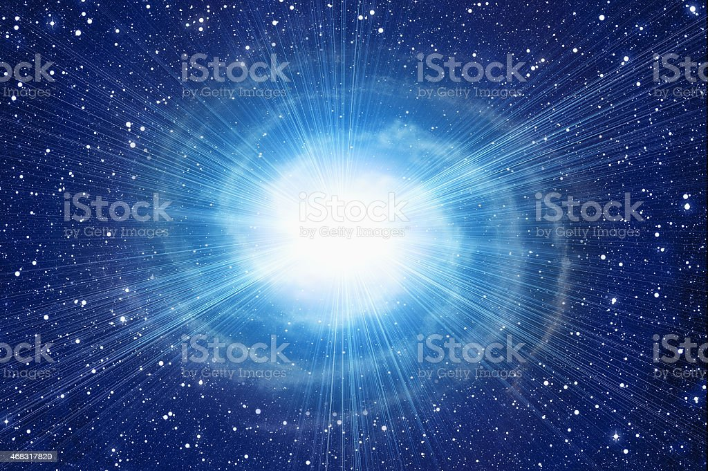 white flash in cosmos sky backgrounds stock photo