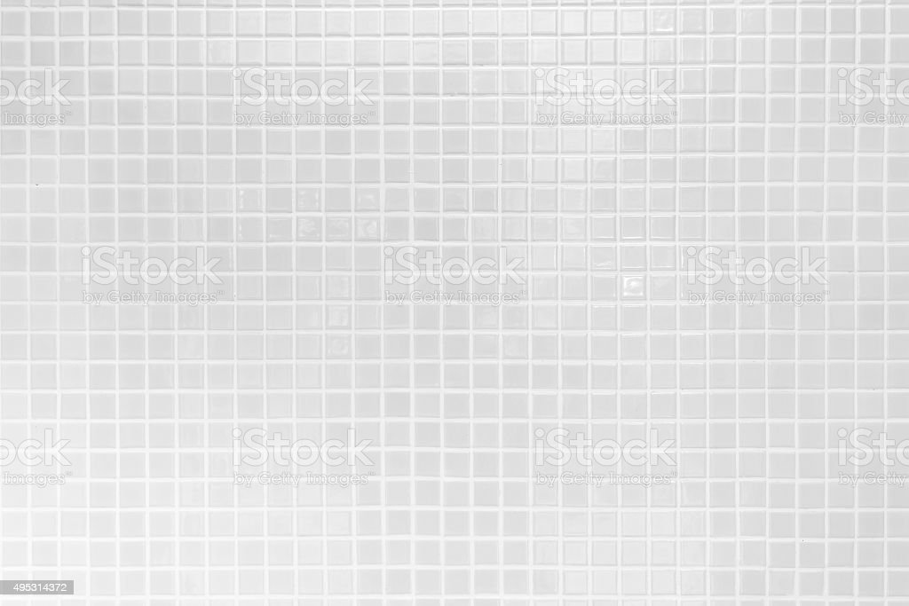 White Floor tiles pattern for background. stock photo