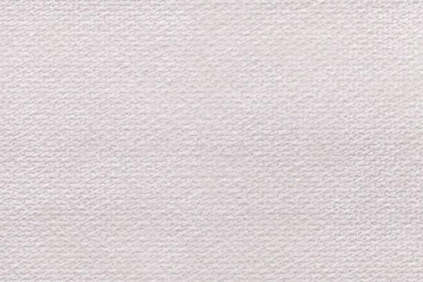White fluffy background of soft, fleecy cloth. stock photo