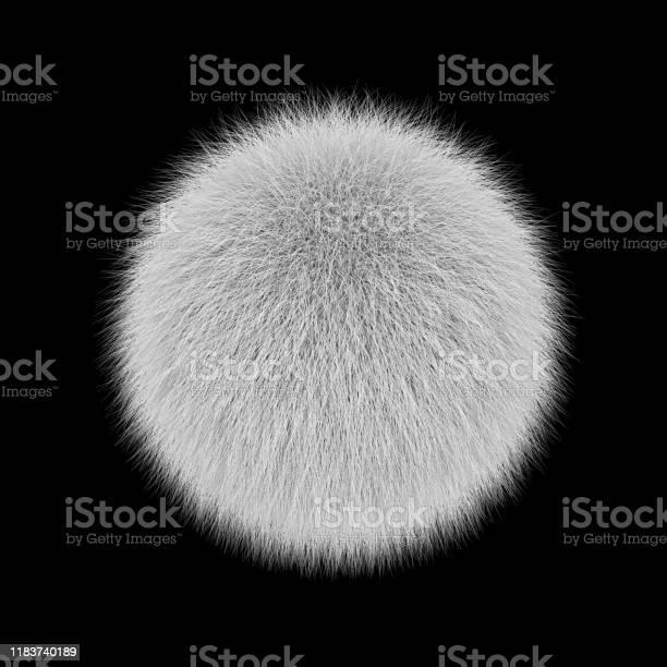 White fluffy ball fur pompon isolated on black picture id1183740189?b=1&k=6&m=1183740189&s=612x612&h=kfar8pt p0vsb6v p0mugckiqu g7bm2ov4mlsejbuk=