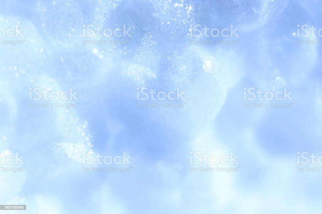 Witte schuim kunststof textuur. Abstracte piepschuim achtergrond. Macro close-up. - Royalty-free Abstract Stockfoto