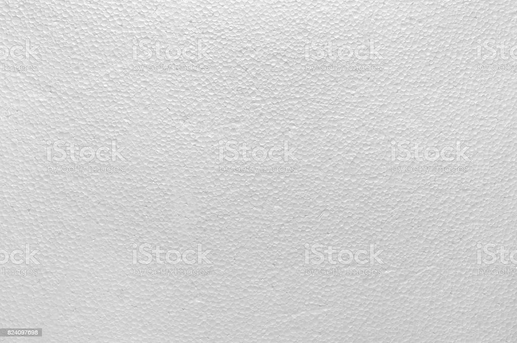 White Foam Plastic Texture background stock photo