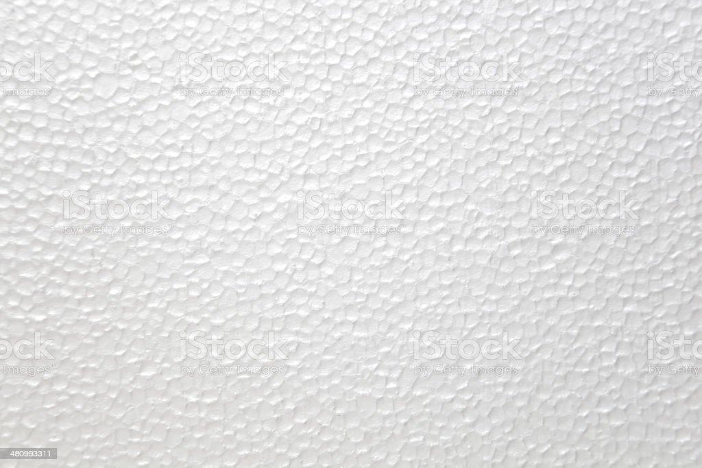 White Foam Polystyrene Texture stock photo