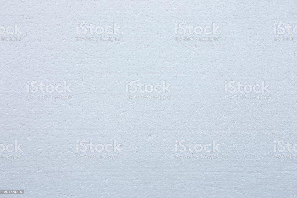 white foamed polystyrene sheet stock photo