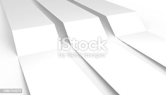 White folder template