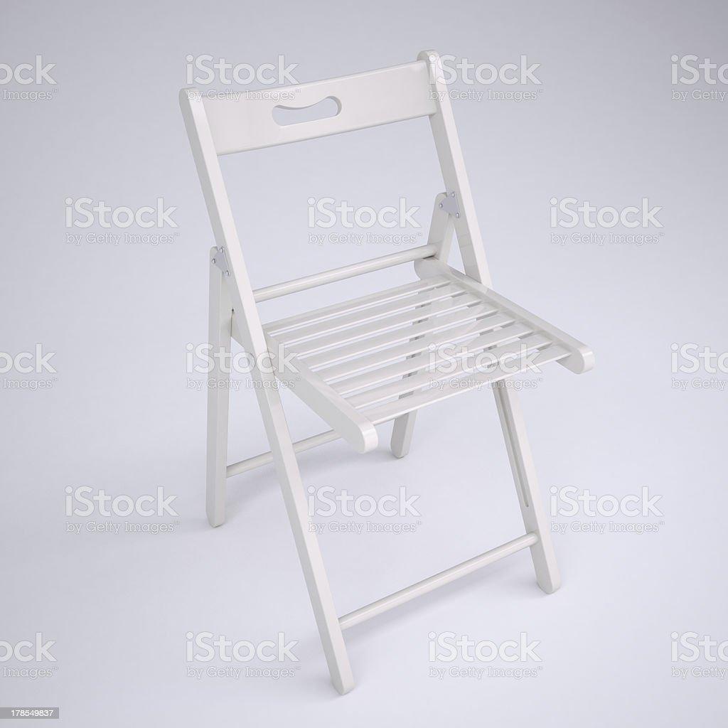 Enjoyable White Folding Chair Stock Photo Download Image Now Istock Onthecornerstone Fun Painted Chair Ideas Images Onthecornerstoneorg