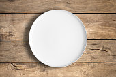 White food plate