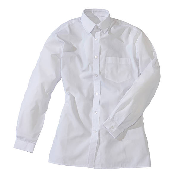 formal feminino camisa branca - foto de acervo