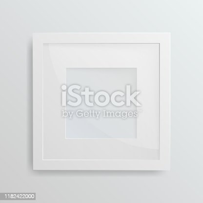 1141440440 istock photo White frame on white background 1182422000