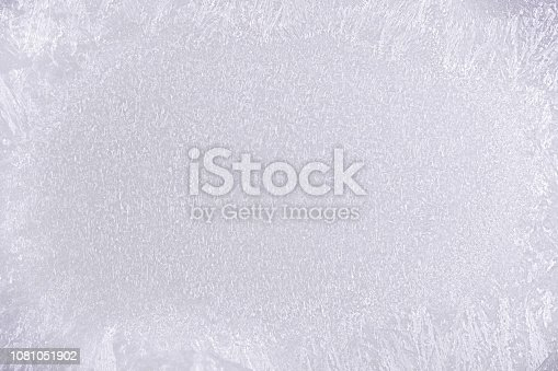 166319867 istock photo White frosted glass background 1081051902