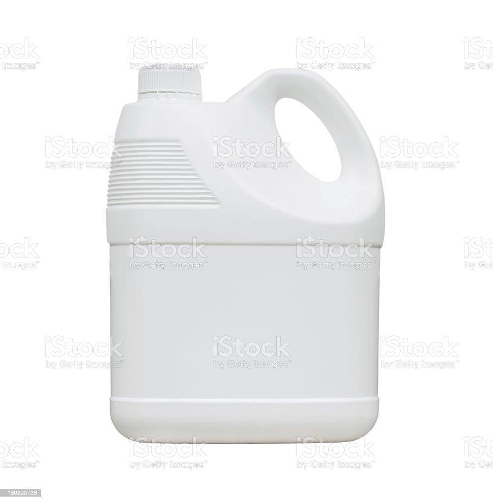 White gallon stock photo