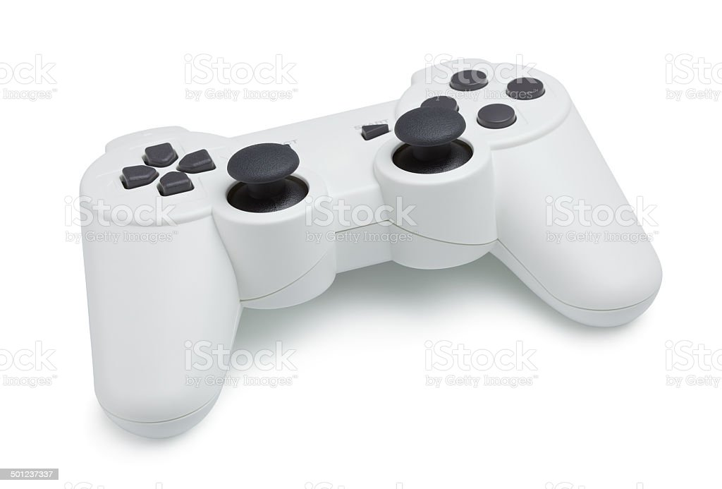 White Gamepad stock photo