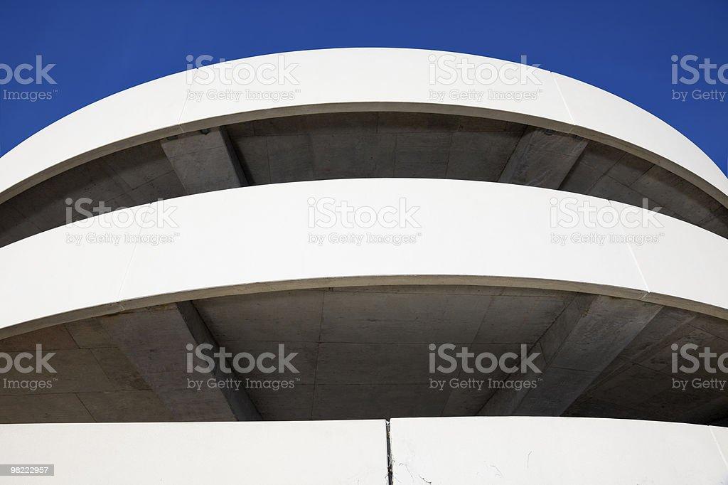 White Garage royalty-free stock photo