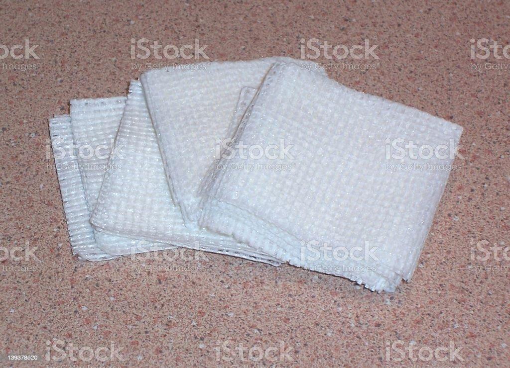 White Gauze royalty-free stock photo