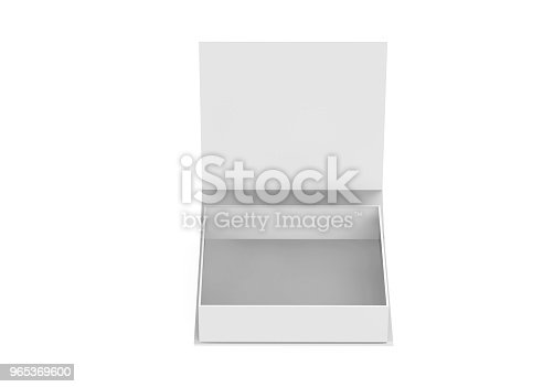 White Gift Box Stock Photo & More Pictures of Blank