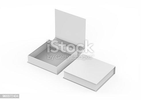 istock White gift box 965372404