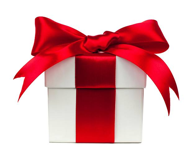 Royalty free gift pictures images and stock photos istock white gift box with red bow and ribbon over white stock photo negle Gallery
