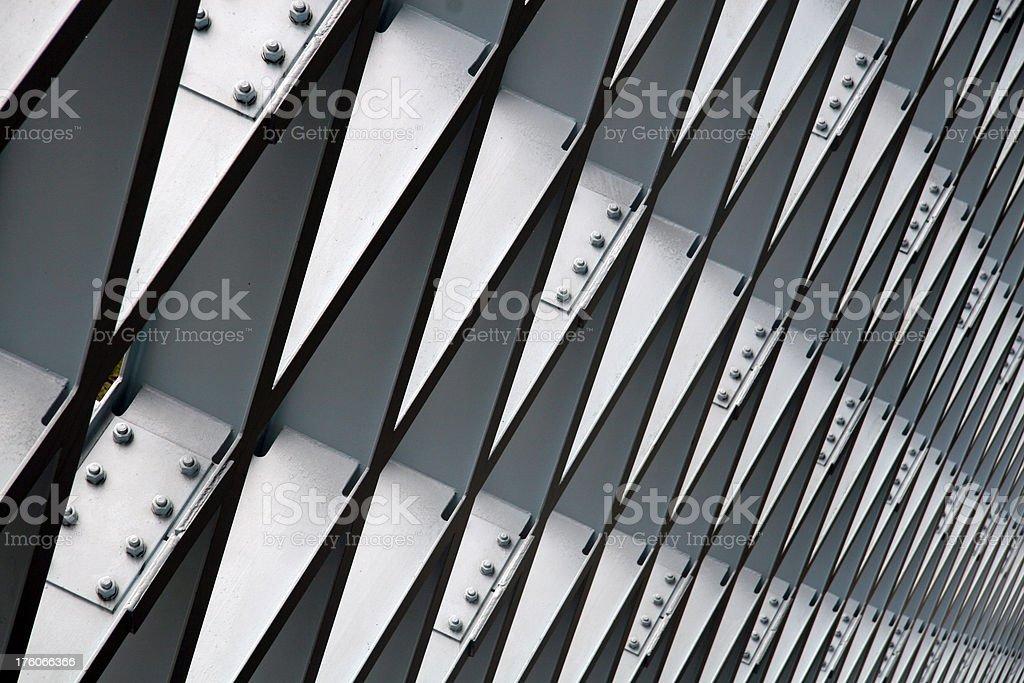 White Girders stock photo