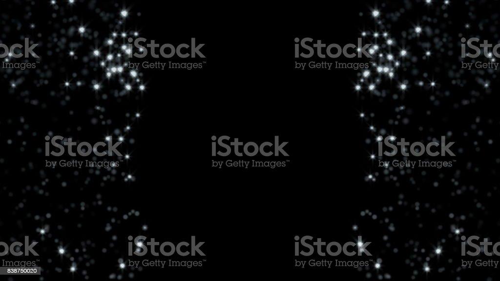 White glitter background stock photo