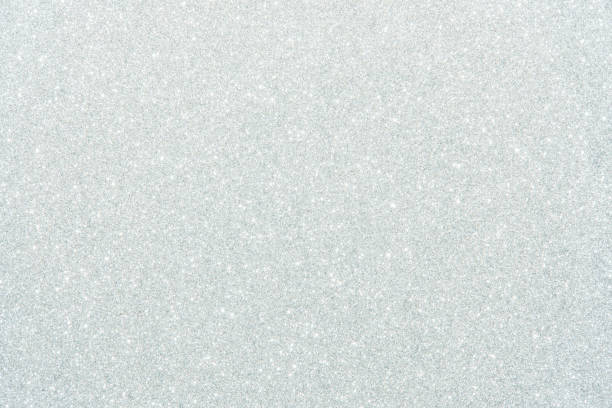 white glitter texture abstract background stock photo