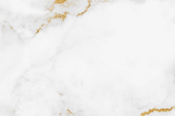 white gold marble texture pattern background with high resolution design for cover book or brochure, poster, wallpaper background or realistic business - mármore rocha imagens e fotografias de stock