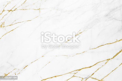 istock White gold marble texture pattern background with high resolution design for cover book or brochure, poster, wallpaper background or realistic business 1155091194