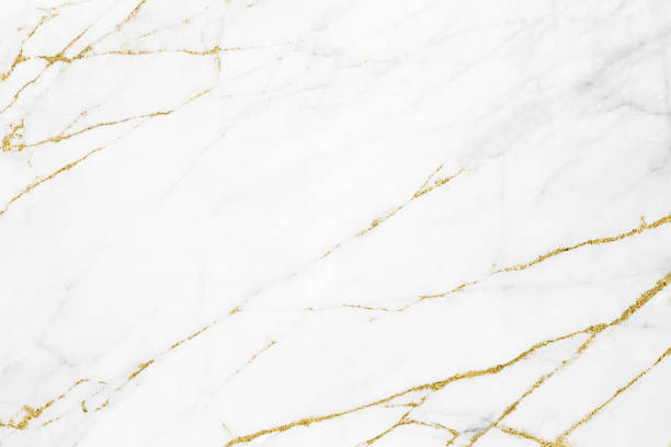 white gold marble texture pattern background with high resolution design for cover book or brochure, poster, wallpaper background or realistic business - {{asset.href}} foto e immagini stock
