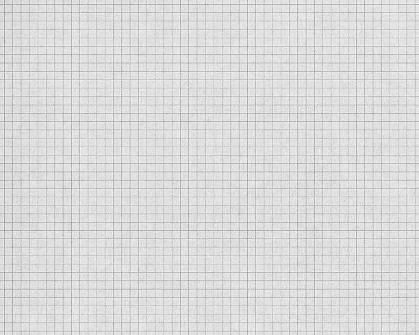 white graph paper with gray lines stock photo