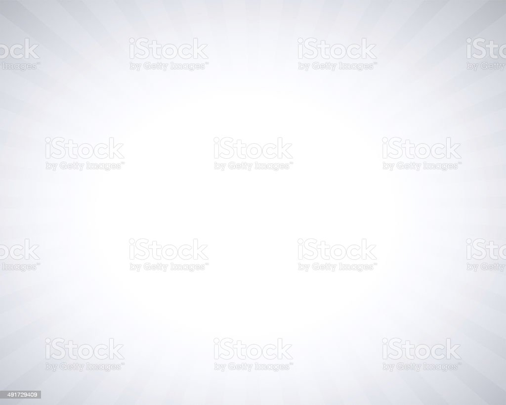 White gray abstract background with light ray around border stock photo