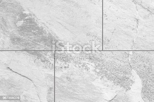 White Gray Marble Stone Tile Floor Texture And Background Stock