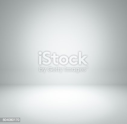 white grey gradient abstract background rendering for display or montage your products