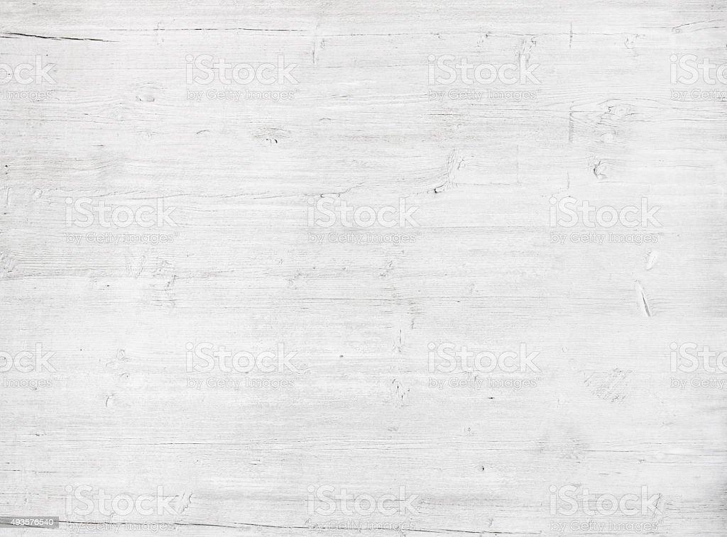 Parete in legno bianco, grigio texture, antico dipinto pine plank - foto stock