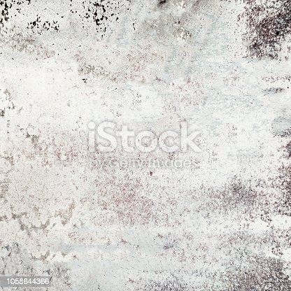 924754302 istock photo White grunge background. Dust Overlay and  Distress Background with scratches. Dark messy wallpaper. 1058644366