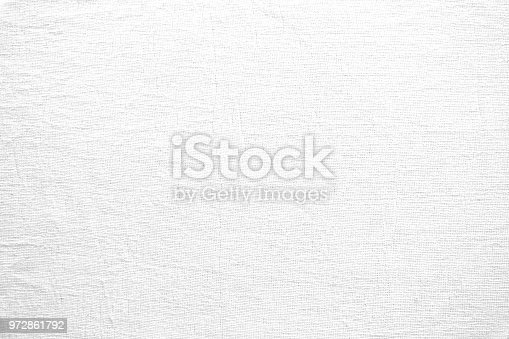 White linen fabric texture. Abstract woven surface.