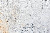 White Grunge Metal Background Texture