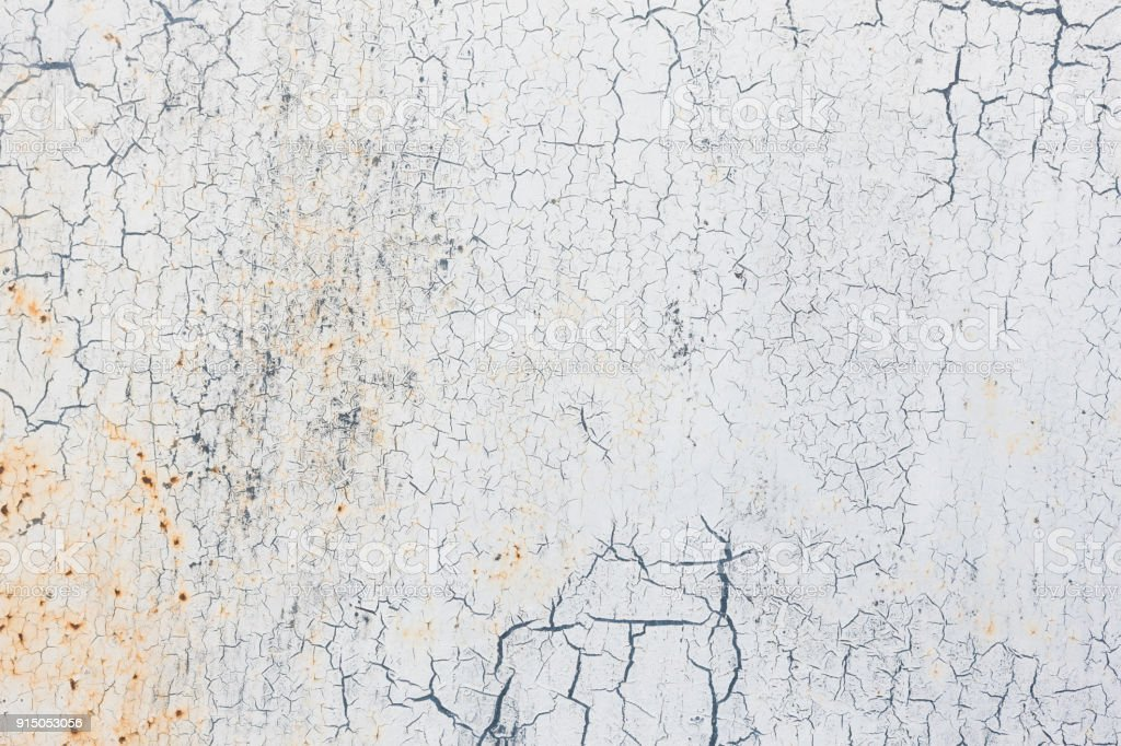 White Grunge Metal Background Texture stock photo