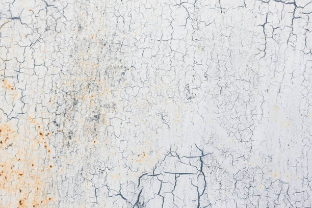 white grunge metal background texture - paint texture stock pictures, royalty-free photos & images