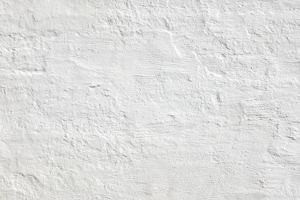 White Grunge Old Brick Wall Background Texture For Home Design Old  White Brick Wall. Plastered Brick Wall Or Fence. Solid Structure. Home House Interior Or Exterior. White Wash Surface. Abstract White Wallpaper. Design In Modern Vintage Style. Rustic Rough Bricklaying. whitewashed stock pictures, royalty-free photos & images