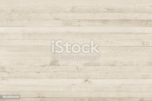 istock White grunge wood texture background surface 834869456