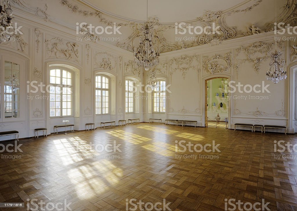 White Hall stock photo