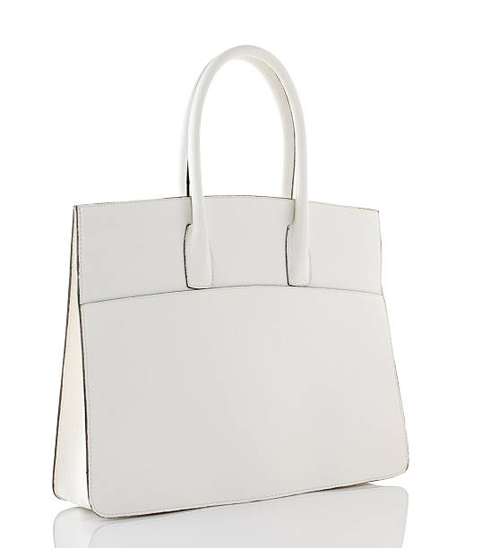 white Handtasche – Foto