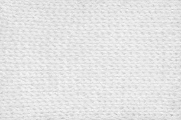 white hand-knitted mohair fabric textile pattern background - wollschal stock-fotos und bilder